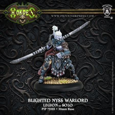 Legion Blighted Nyss Warlord METAL